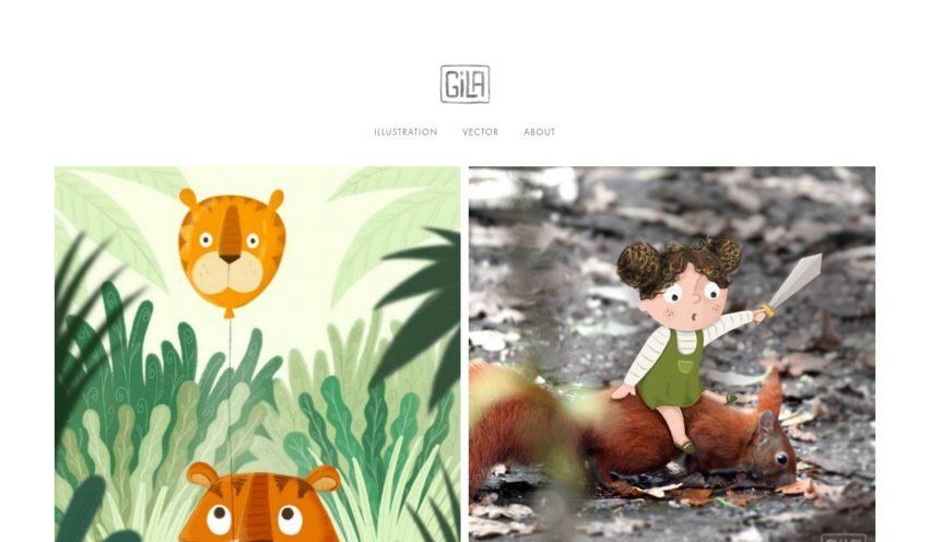 gila.be - Illustrationen und Grafiken.