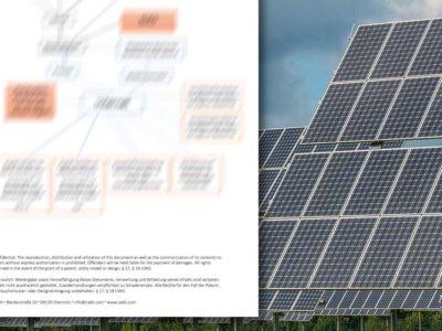 Überwachung und Kontrolle von Photovoltaik-Freiflächenanlagen – Konzept